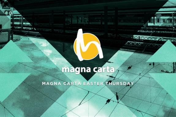 Magna Carta Easter Thursday 2014, Great Suffolk Street Warehouse
