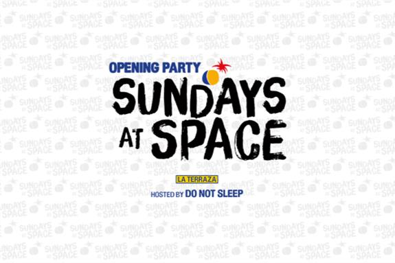 Sundays at Space Opening Party 2016