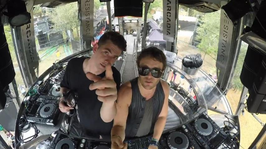 Lee Foss b2b Skream - Live @ Ultra Music Festival Miami 2016, Resistance Stage