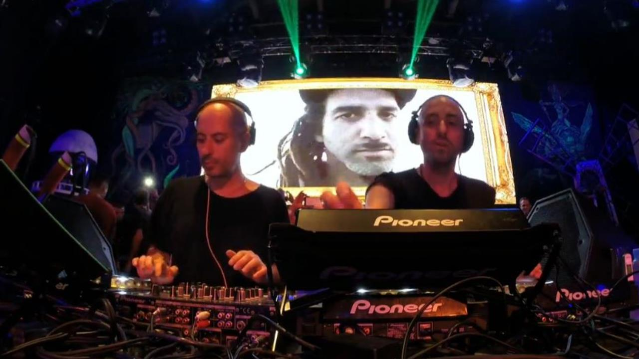 Technasia b2b Riva Starr - Live @ Elrow Closing Party 2014, Space Ibiza