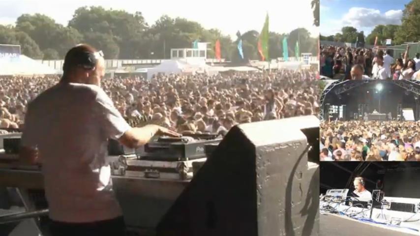 Sander Kleinenberg - Live @ SW4 2009 Clapham Common