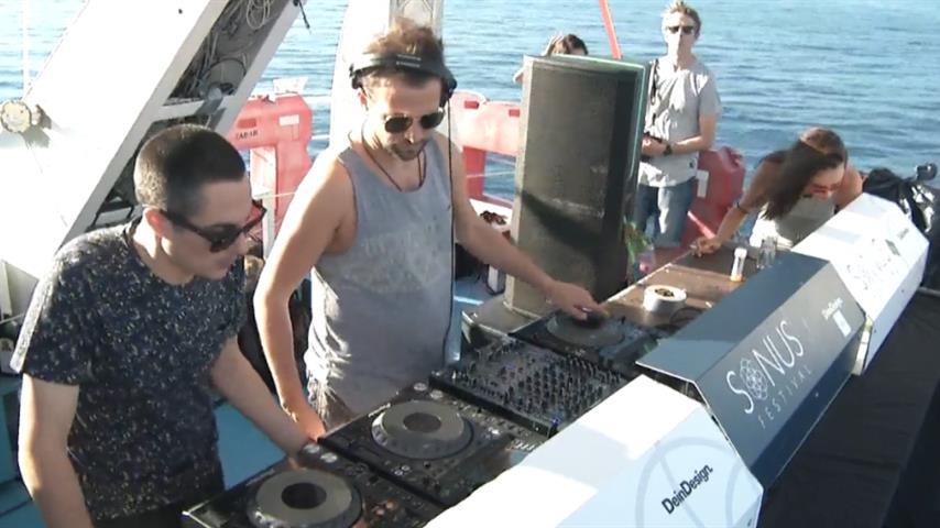 Valentino Kanzyani - Live @ Sonus Festival 2016, Colours Boat Party