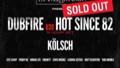 Dubfire b2b Hot Since 82 - Live @ Sound Nightclub Los Angeles 2016