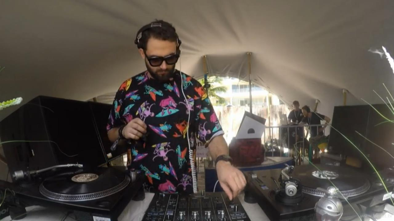 Mihalis Safras - Live @ The BPM Festival 2017 Repopulate Mars, Canibal Royal