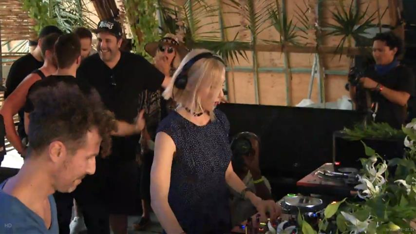 Ellen Allien - Live @ The BPM Festival 2017, Saura, Martina Beach
