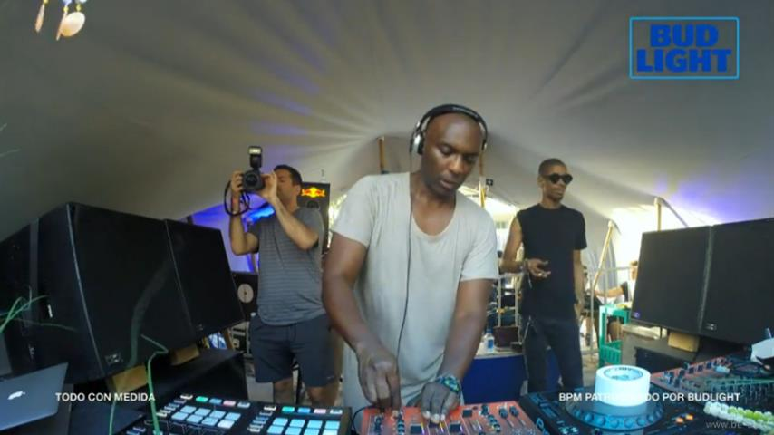 Kenny Larkin - Live @ The BPM Festival 2017, Detroit Love, Canibal Royale