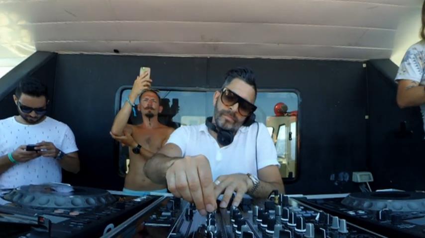 Darius Syrossian - Live @ Cirque de la Nuit Boat Party 2017