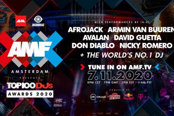 AMF Presents Top 100 DJs Awards 2020