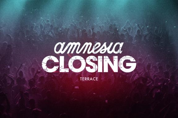 Amnesia Closing Party 2014
