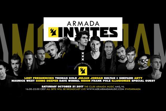 Armada Invites x ADE 2017