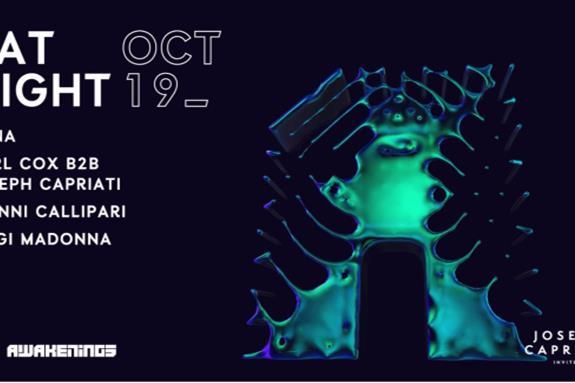 Awakenings x Joseph Capriati Invites x ADE 2019