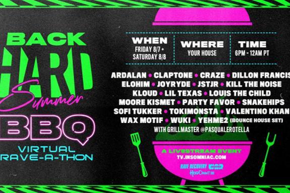 BackHARD Summer BBQ Virtual Rave-A-Thon 2020