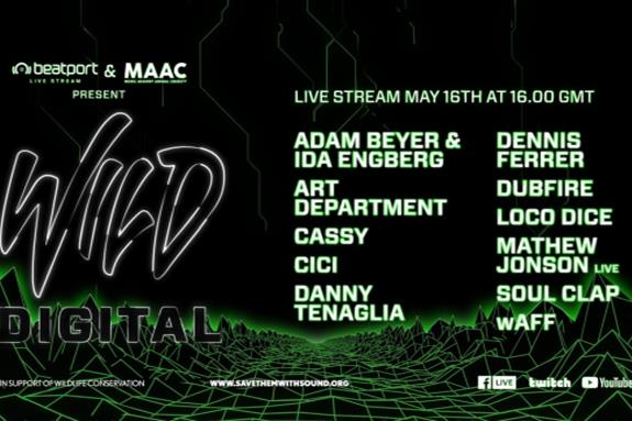 Beatport X MAAC present 'Wild Digital' 2020