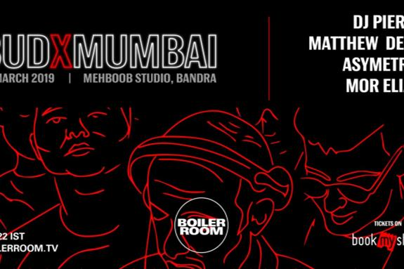 Boiler Room at Bud X Mumbai 2019