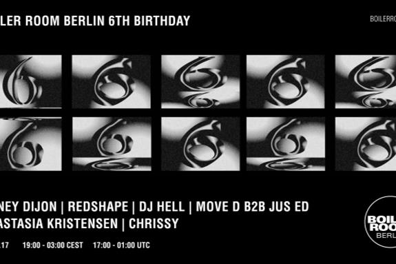 Boiler Room Berlin 6th Birthday 2017