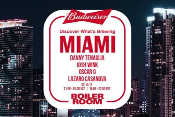 Boiler Room x Budweiser: Miami 2017