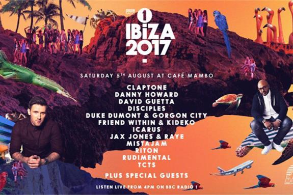 Cafe Mambo for Radio 1 Ibiza 2017
