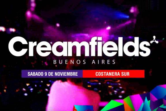 Creamfields Buenos Aires 2012