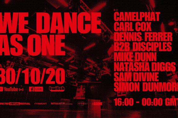 Defected Virtual Festival: We Dance As One 1.0 2020