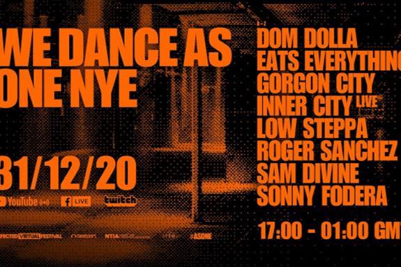 Defected Virtual Festival: We Dance As One 3.0 NYE 2021
