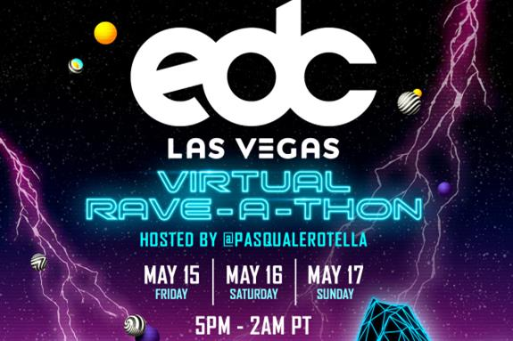 EDC Las Vegas Virtual Rave-A-Thon 2020