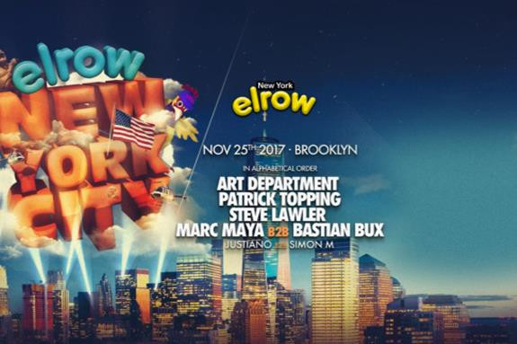Elrow Goes To NYC 2017