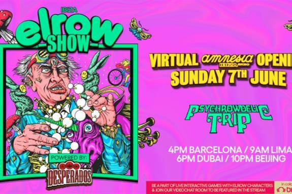 elrowSHOW Amnesia Ibiza 2020