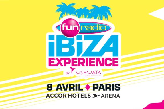 Fun Radio Ibiza Experience Paris 2016