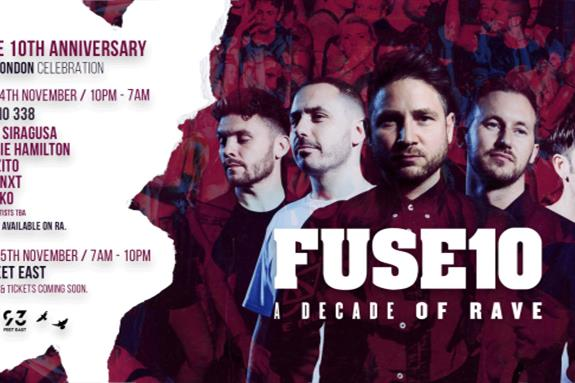 Fuse 10th Birthday 2018