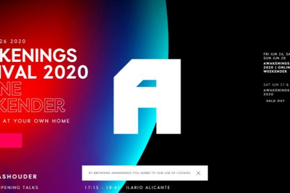 Gashouder for Awakenings Festival 2020