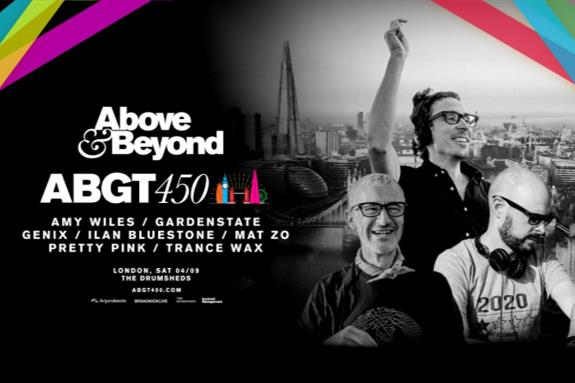 Group Therapy 450 (#ABGT450) x The Drumsheds, London 2021