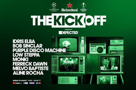 Heineken & UEFA Presents The Opening Party Powered By Defected 2020