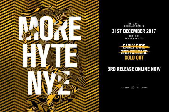 HYTE NYE Funkhaus Berlin 2017