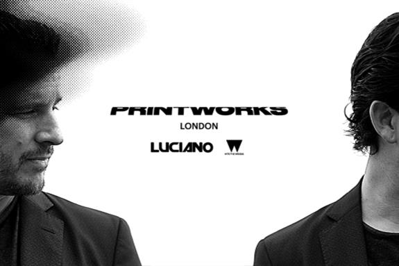 Luciano & Friends, Printworks 2017