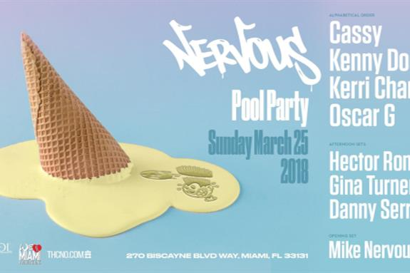 Nervous Records Pool Party 2018