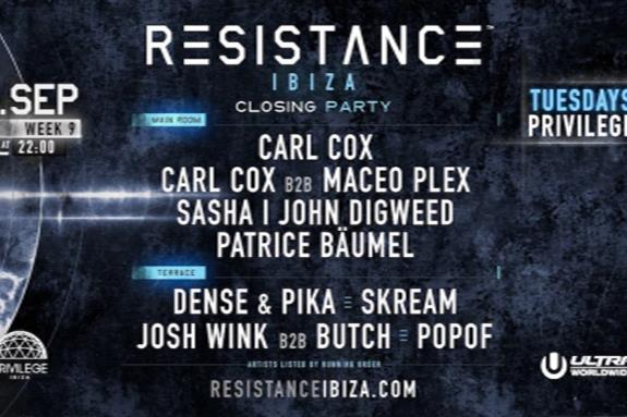 Resistance Ibiza: Closing Party 2018