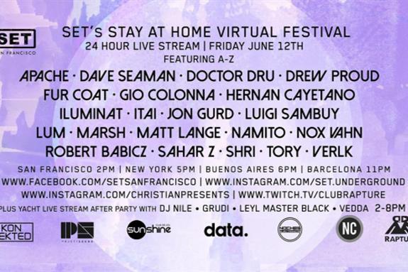 SET San Francisco Stay-At-Home Virtual Festival #2 2020