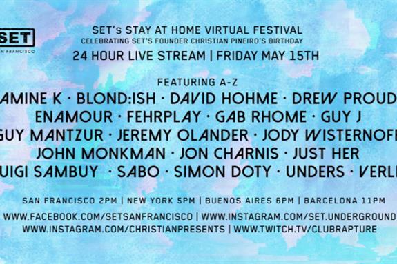 SET San Francisco Stay-At-Home Virtual Festival 2020