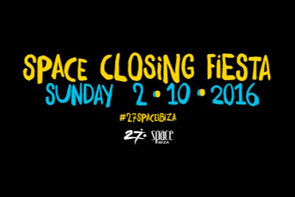Space Closing Fiesta 2016