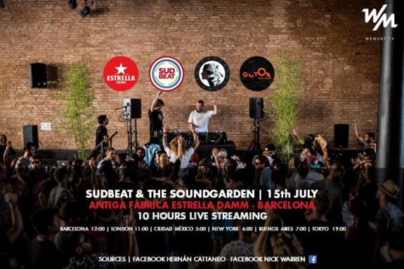 Sudbeat & The Soundgarden x Antiga Fàbrica Estrella Damm 2018