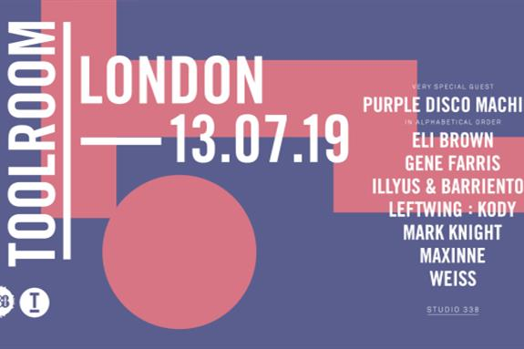 Toolroom London Summer Party at Studio 338 2019