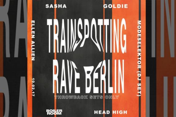 Trainspotting Rave Berlin 2017