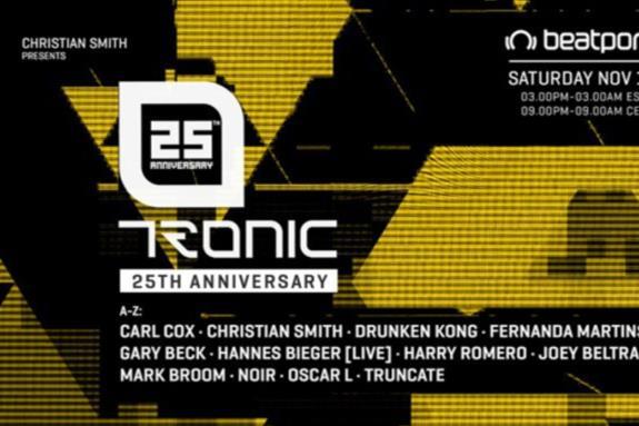 Tronic 25th Virtual Anniversary, Autumn 2020
