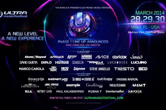 Ultra Music Festival Miami 2014