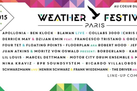 Weather Festival Paris  2015