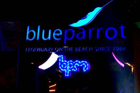 Blue Parrot, Playa del Carmen, Mexico
