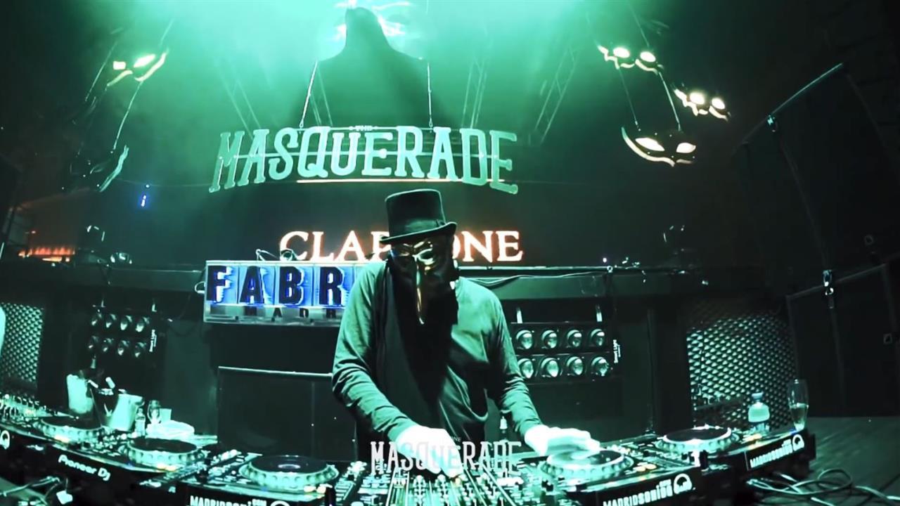Claptone - Live @ The Masquerade Madrid x FABRIK Madrid 2019