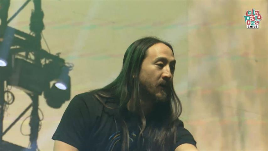 Steve Aoki - Live @ Lollapalooza Chile 2019 Perry's Stage