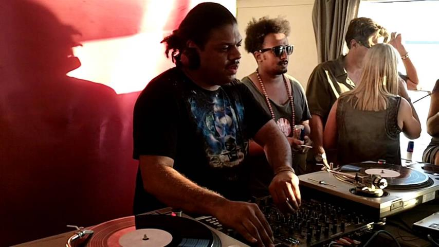 Kerri Chandler - Live @ Galaxy Restaurant & Bar, Athens 2010