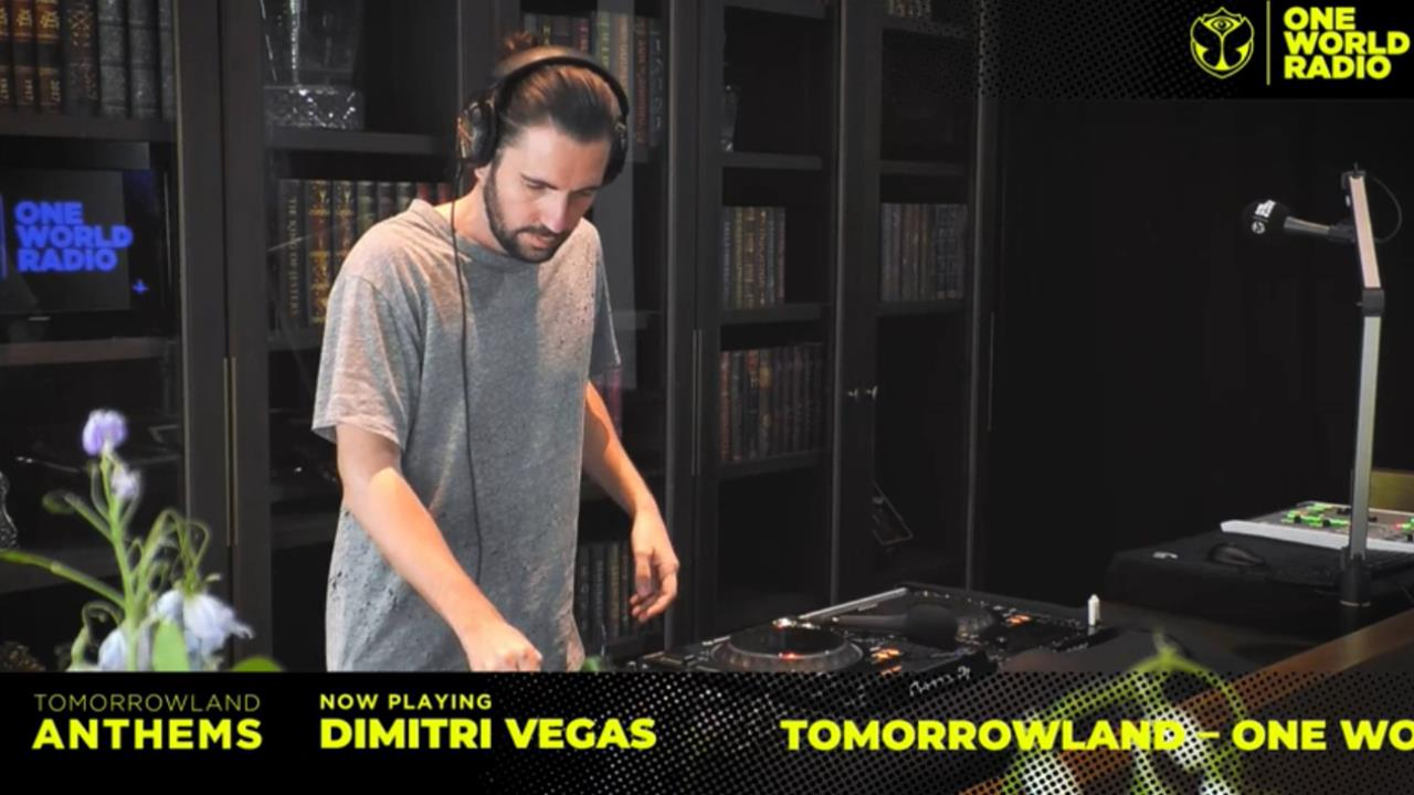 Dimitri Vegas and Henri PFR - Live @ Tomorrowland Anthems x Tomorrowland One World Radio 2019